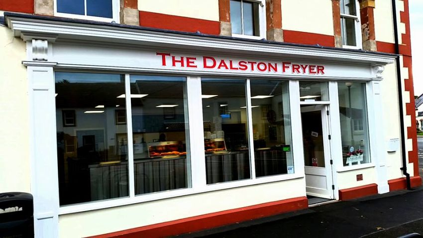 The Dalston Fryer. (14 miles away)