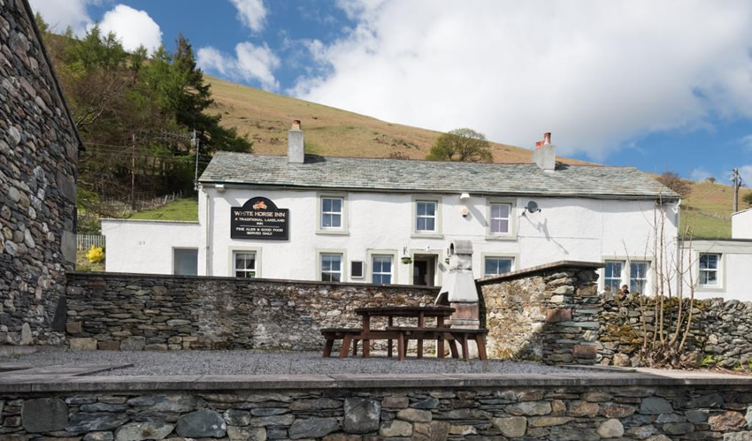 The White Horse Inn - Blencathra (7 miles away)